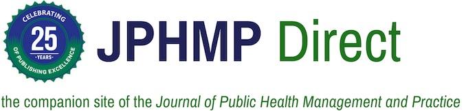 J Public Health Manag Pract Journal Public Health Management Practice